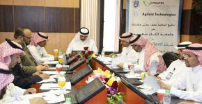 وكالة الدراسات العليا والبحث العلمي بجامعة الملك سعود تدشن برنامجاها التدريبي الشامل لتهيئة الموظفين وادماجهم في منظومة الوكالة
