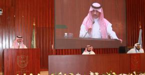 الدكتور المعمر يفتتح فعاليات المؤتمر العلمي لأبحاث طب الباطنة