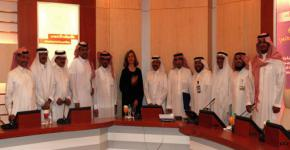 Michigan State University's Communication Arts and Sciences Dean, Dr. Pamela Whitten, visits KSU
