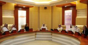 عميدة  كلية الفنون والاتصال بجامعة ميتشغان تزور جامعة الملك سعود