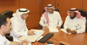 عمادة التطوير تُعد متطلبات الحصول على نظام إدارة الجودة