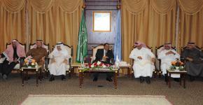 مدير جامعة حضرموت يزور جامعة الملك سعود
