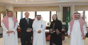 Dalhousie University delegation visits King Saud University