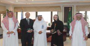 Dalhousie University delegation visits King Saud University