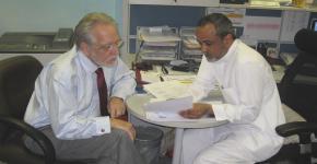 برنامج أبحاث المؤشرات الحيوية بجامعة الملك سعود يستضيف البروفيسور جورج كروسيس