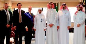نائب رئيس معهد جورجيا للتكنولوجيا يبدي إعجابه بالحراك التطويري لجامعة الملك سعود