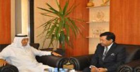 Bangladeshi Ambassador to Saudi Arabia, Vice Rector Al-Ruwais discuss bilateral relations