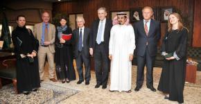 British Officials Tour King Saud University Facilities During Kingdom Visit