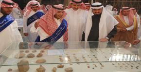افتتاح معرض الآثار المستعادة بجامعة الملك سعود