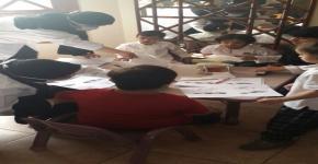 جمعية طب الأسنان تقوم بزيارة أطفال الجمعية الخيرية لمتلازمة داون دسكا