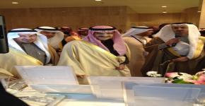 أمير الرياض يزور جناح الجامعة بالمؤتمر السعودي للابتكار الصحي  2013 المقام بمدينة الملك فهد الطبية