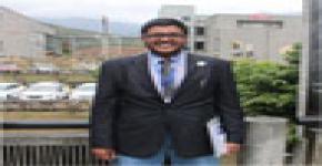 مثل الطالب عبدالله الجودر نادي هندسة البترول والغاز الطبيعي في المؤتمر العالمي لتقنيات البترول 2014