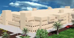 تدشين مشروع مبنى كلية السياحة والآثار