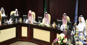 Prince Badr bin Sultan bin Abdulaziz Visits KSU