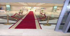 كلية التمريض تتشرف بزيارة صاحبة السمو الملكي الأميرة  الدكتورة مشاعل بنت محمد ال سعود