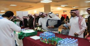 نادي التمريض ينظم فعاليات كورونا في مستشفى الملك خالد الجامعي