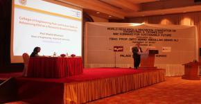 مشاركة كلية الهندسة في المؤتمر الدولي للأبحاث والابتكار الهندسي ماليزيا