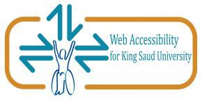 ورشة عمل بعنوان منالية الويب وأثرها في الوصول الالكتروني لذوي الاحتياجات الخاصة ضمن فعاليات الندوة الوطنية الرابعة للمعلوماتية بجامعة الملك سعود.