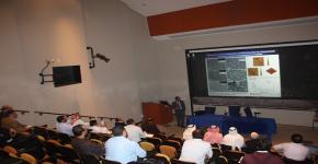 مشاركة معهد الملك عبدالله لتقنية النانو في تنظيم وإقامة ورشة عمل بعنوان المواد المسامية - تصميم وتطبيقات