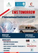 "Riyadh Hosting ""EMS Tomorrow"" International Conference & Workshops on Emergency Medical Services September 27~29, 2019"