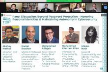 KSU Professor Discusses Multi-Stakeholder Cybersecurity Solutions for a Post COVID-19 Digital World at T20 Summit Season