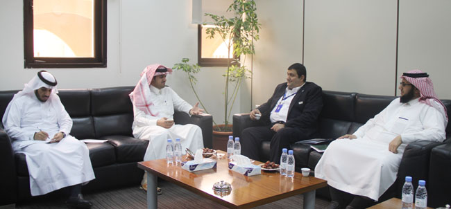Visit of the representative of the Saudi cultural attaché in Austria