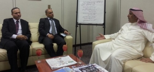 Aljazeera center studies delegation at NCYS