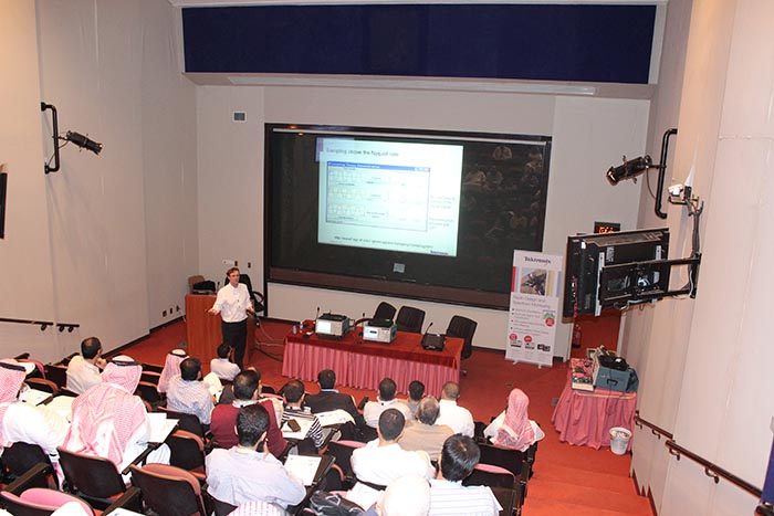 Advanced radar workshop for KSU military researchers