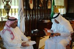 الأمين العام يلتقي نائب وزير التعليم العالي